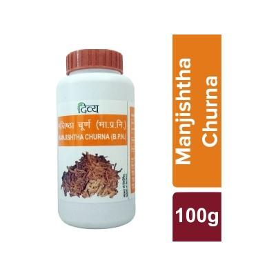 Patanjali Divya Manjishtha Churna, 100 Grams