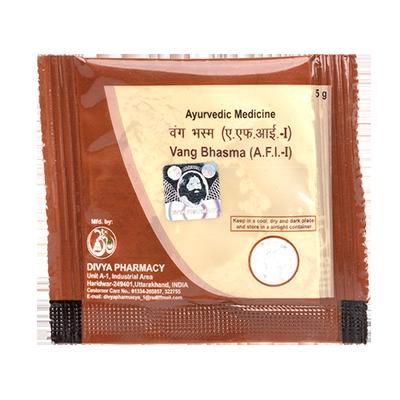 Patanjali Divya Vang Bhasma, 5 Grams