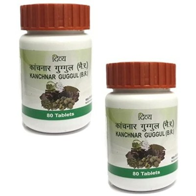 Patanjali Divya Kanchnar Guggul, 80 Tablets