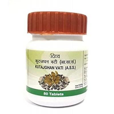 Patanjali Divya Kutajghan Vati, 80 Tablets