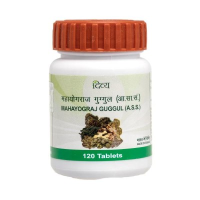 Patanjali Divya Mahayograj Guggul, 120 Tablets
