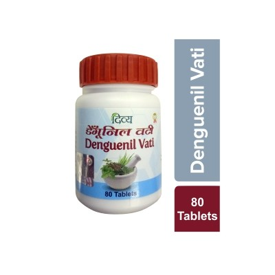 Patanjali Divya Dengunil Vati,80 Tablets (Pack of 2)