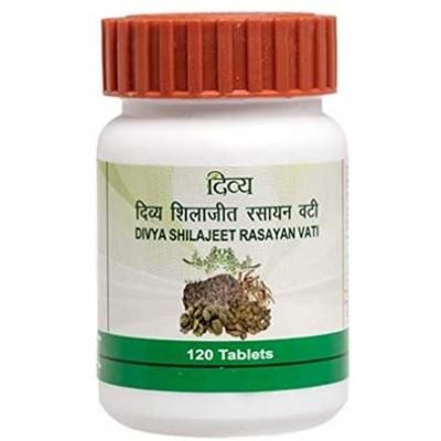 Patanjali Divya Shilajeet Rasayan Vati, 120 Tablets