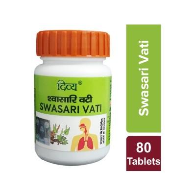Patanjali Divya Swasari Vati, 80 Tablets