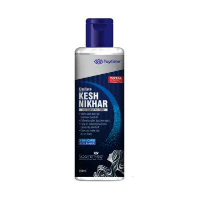 Toptime Kesh Nikhar Anti Dandruff Hair Toner, 200 ml