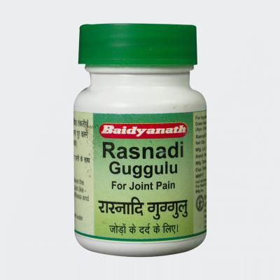 Baidyanath Rasnadi Guggulu, 80 Tabs (Pack of 3)