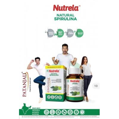 Patanjali Nutrela Natural Spirulina, 60 Tablets