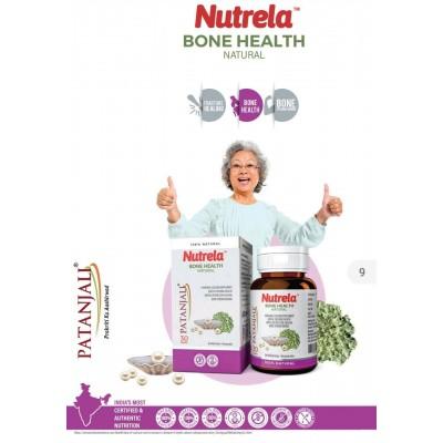Patanjali Nutrela Bone Health Natural, 30 Capsules