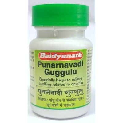 Baidyanath PUNARNAVADI GUGGULU, 80 TAB