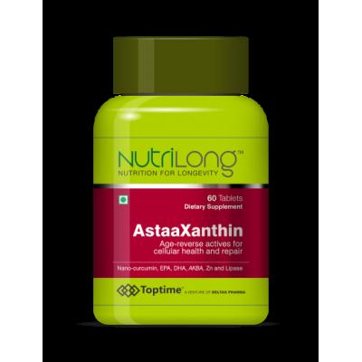 Toptime Nutrilong AstaaXanthin, 60 Tablets