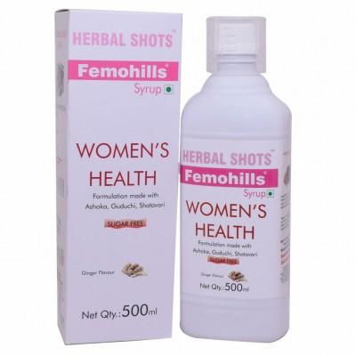 Herbal Hills Femohills Herbal Shots, 500ml