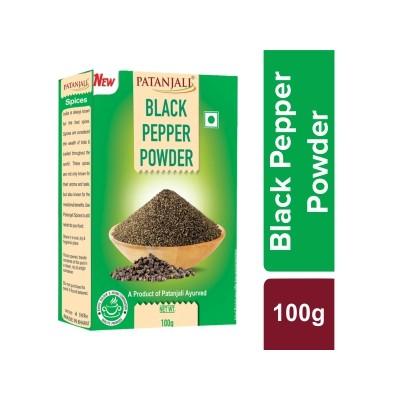 Patanjali SPICE BLACK PEEPER POWDER, 100 gm
