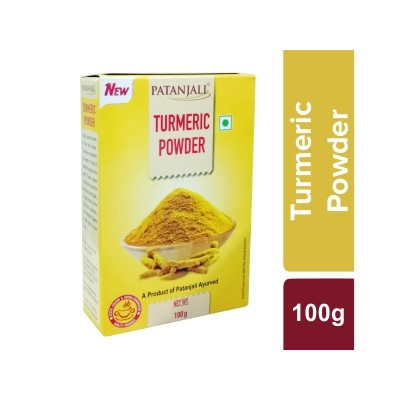 Patanjali TURMERIC POWDER, 100 gm