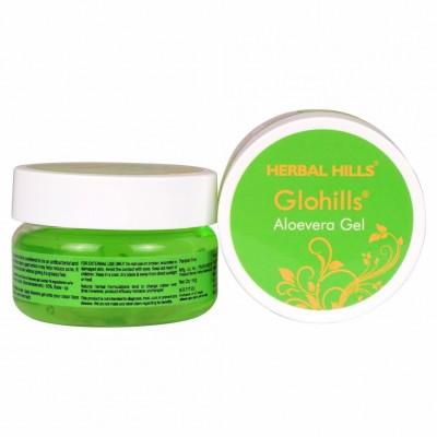 Herbal Hills Glohills Aloevera Gel, 50 gms
