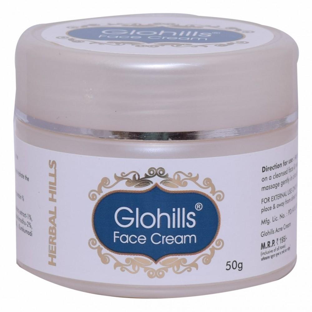 Herbal Hills Glohills Face Cream, 50 gms
