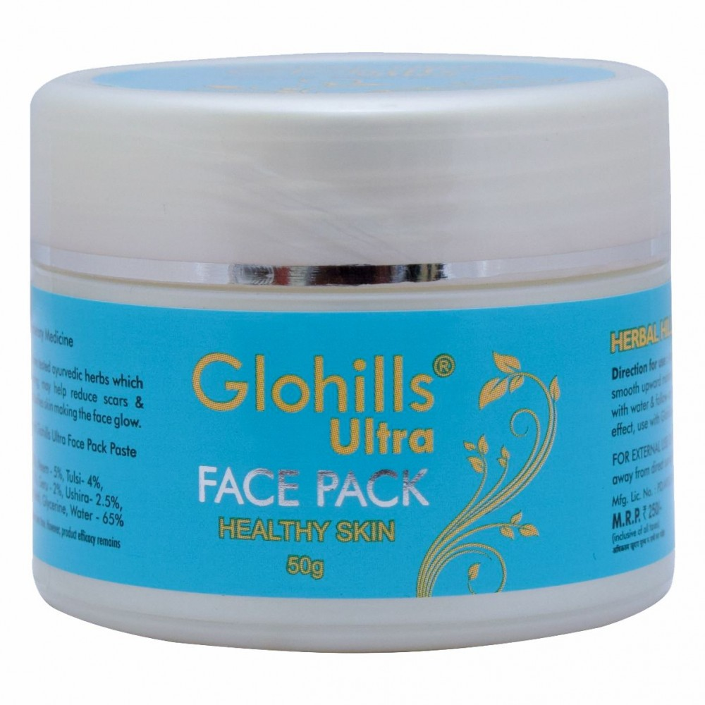 Herbal Hills Glohills Ultra Face Pack, 50 gms