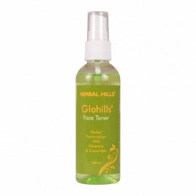 Herbal Hills Glohills Aloe Mist Face Toner, 100ml