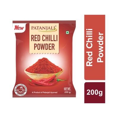 Patanjali RED CHILI POWDER, 200 gm