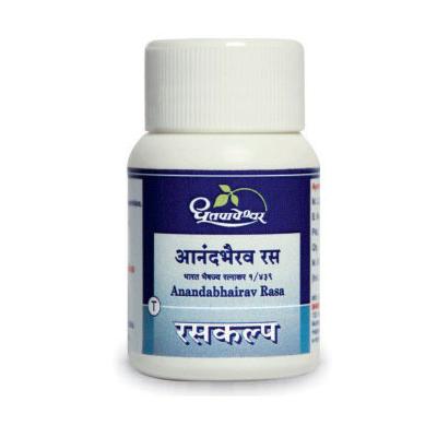 Dhootapapeshwar Anandbhairav Rasa