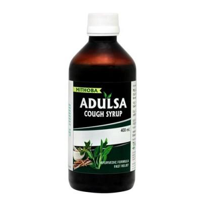 Mithoba Adulsa Cough Syrup, 200 ml