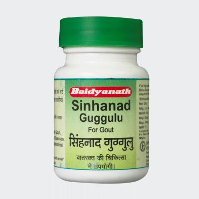 Baidyanath Sinhanad Guggulu, 80 TAB