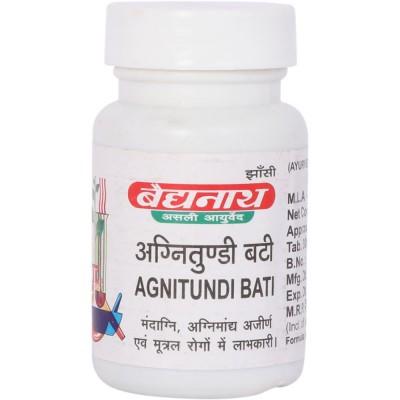 Baidyanath AGNITUNDI BATI, 80 TAB