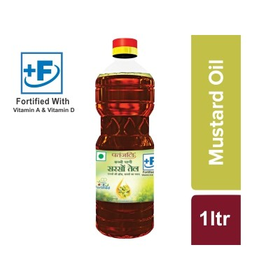 Patanjali AAROGAYA MUSTARD OIL, 1 litre