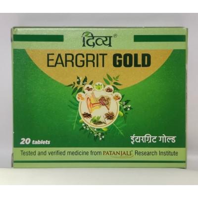 Patanjali Divya Eargrit Gold, 20 Tab