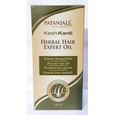 Patanjali Kesh Kanti Herbal Hair Expert Oil, 100 Ml