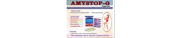 Amystop - G - herbal remedy for excessive bleeding