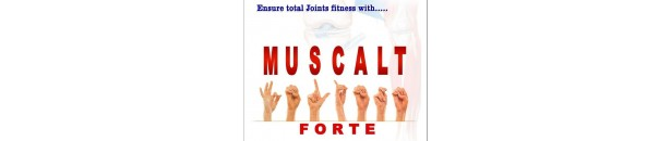 Muscalt Forte tabs and oil - Anti Arthritic by Aimil Pharma