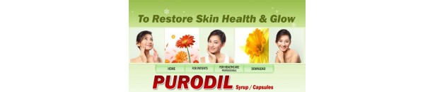 Purodil caps & syp - restore your Skin Health and Glow